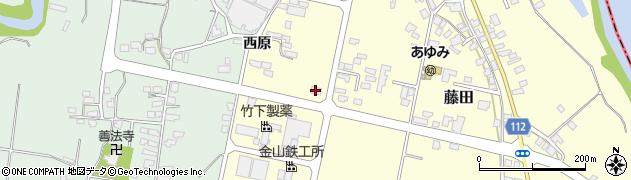 山形県西村山郡大江町藤田685周辺の地図