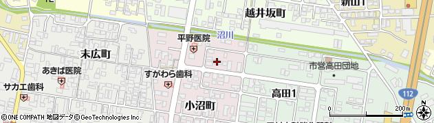 山形県寒河江市小沼町137周辺の地図