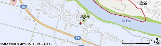 山形県寒河江市中郷1004周辺の地図