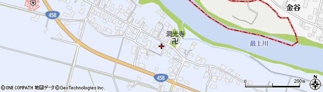 山形県寒河江市中郷1005周辺の地図