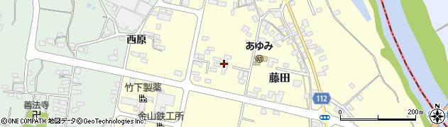 山形県西村山郡大江町藤田411周辺の地図