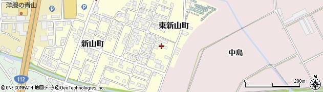 山形県寒河江市東新山町245周辺の地図