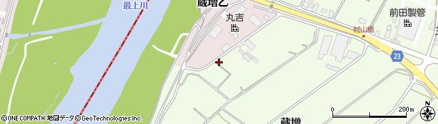 山形県天童市蔵増2985周辺の地図