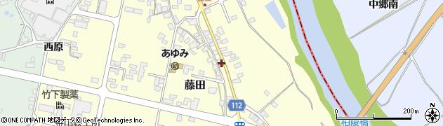 山形県西村山郡大江町藤田124周辺の地図
