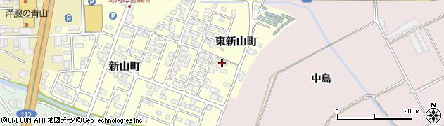 山形県寒河江市東新山町246周辺の地図