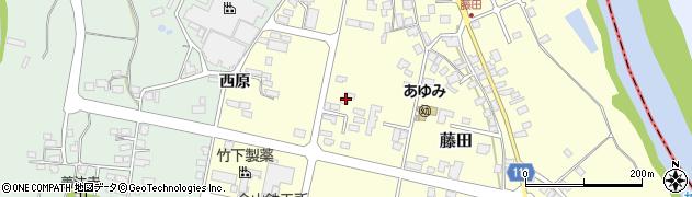 山形県西村山郡大江町藤田446周辺の地図