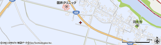 山形県寒河江市中郷塩田1339周辺の地図