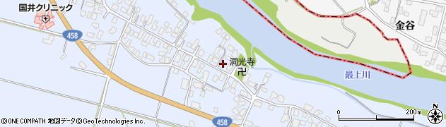 山形県寒河江市中郷900周辺の地図
