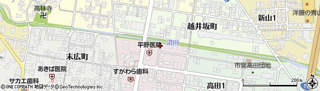 山形県寒河江市小沼町118周辺の地図