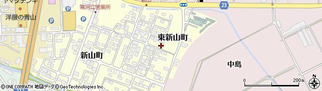 山形県寒河江市東新山町228周辺の地図
