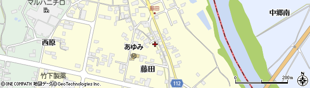 山形県西村山郡大江町藤田388周辺の地図