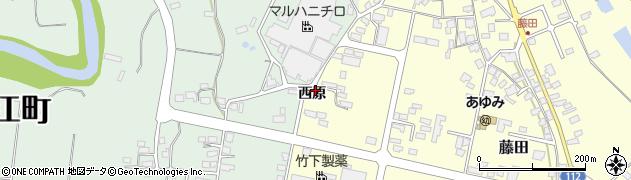 山形県西村山郡大江町藤田845周辺の地図