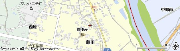 山形県西村山郡大江町藤田429周辺の地図