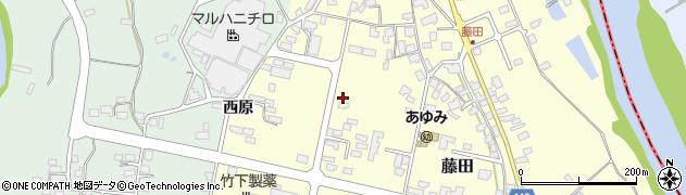 山形県西村山郡大江町藤田444周辺の地図