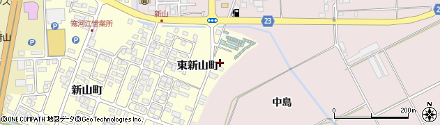 山形県寒河江市東新山町260周辺の地図