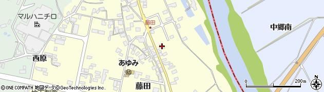 山形県西村山郡大江町藤田99周辺の地図