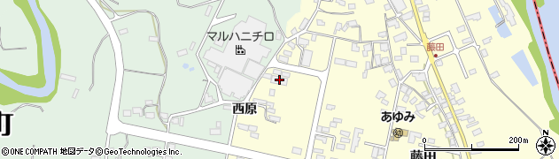 山形県西村山郡大江町藤田851周辺の地図