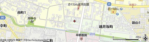 山形県寒河江市越井坂町51周辺の地図