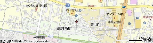 山形県寒河江市越井坂町136周辺の地図