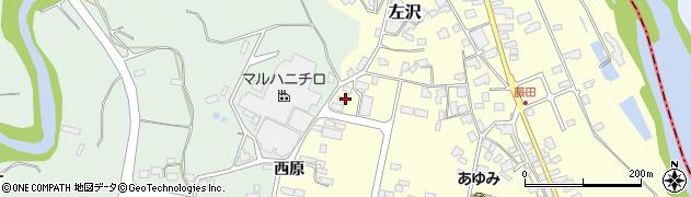 山形県西村山郡大江町藤田853周辺の地図