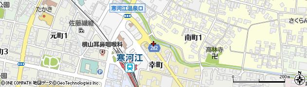 山形県寒河江市幸町2-6周辺の地図