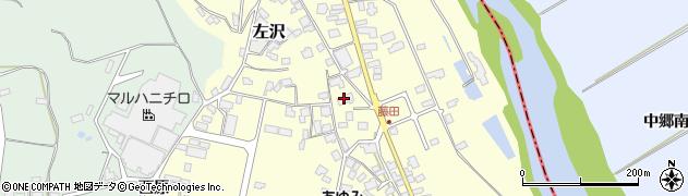 山形県西村山郡大江町藤田451周辺の地図