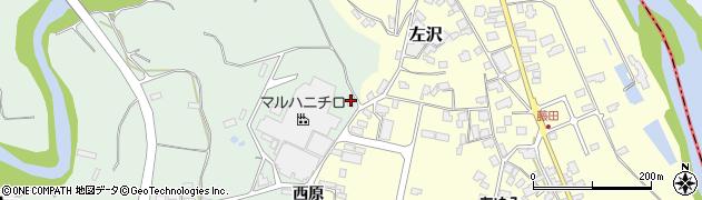 山形県西村山郡大江町小見33周辺の地図