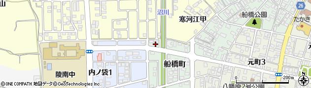 山形県寒河江市船橋町19周辺の地図