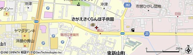山形県寒河江市日田五反203周辺の地図