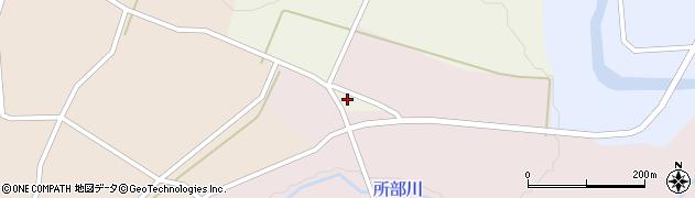 山形県西村山郡大江町塩野平127周辺の地図