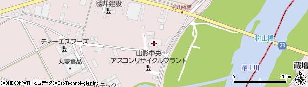 山形県寒河江市日田平田232周辺の地図