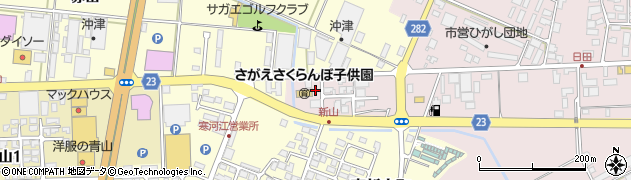 山形県寒河江市日田五反202-2周辺の地図