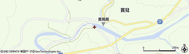 山形県西村山郡大江町貫見373周辺の地図