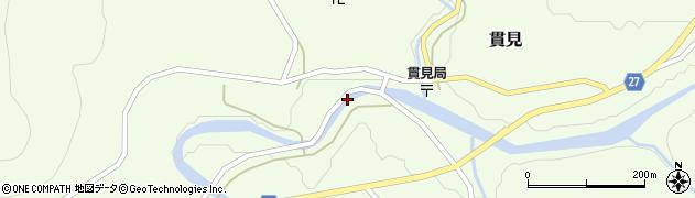 山形県西村山郡大江町貫見367周辺の地図