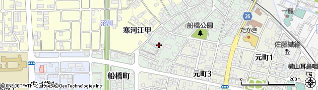 山形県寒河江市船橋町651周辺の地図