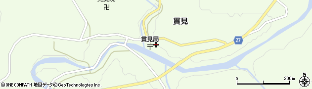 山形県西村山郡大江町貫見56周辺の地図