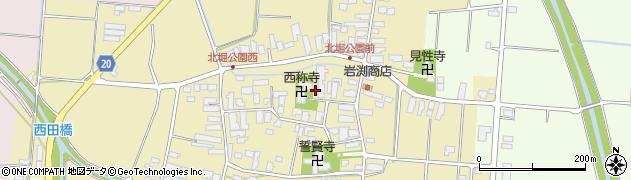 山形県天童市蔵増甲周辺の地図