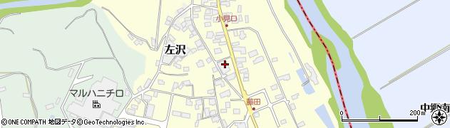 山形県西村山郡大江町藤田47周辺の地図