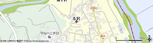 山形県西村山郡大江町左沢1682周辺の地図