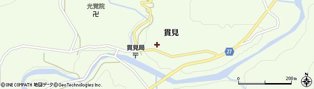 山形県西村山郡大江町貫見32周辺の地図