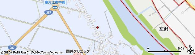 山形県寒河江市中郷1366周辺の地図