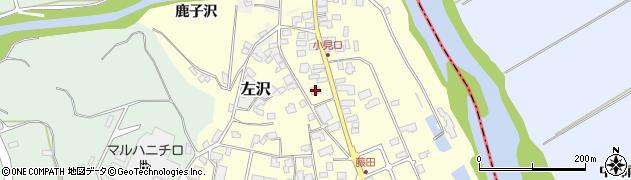 山形県西村山郡大江町藤田46周辺の地図