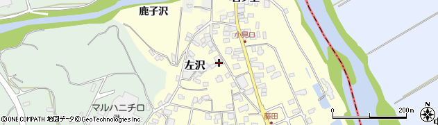 山形県西村山郡大江町藤田469周辺の地図