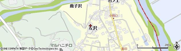 山形県西村山郡大江町藤田470周辺の地図
