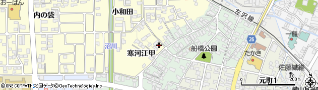 山形県寒河江市寒河江甲1716周辺の地図