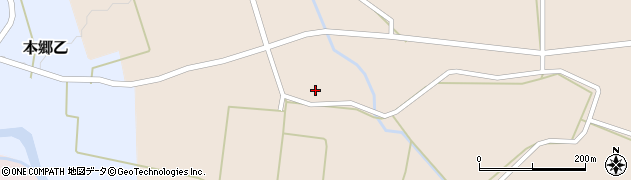 山形県西村山郡大江町本郷丙637周辺の地図