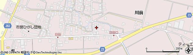 山形県寒河江市日田570周辺の地図