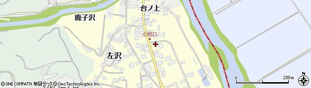 山形県西村山郡大江町藤田49周辺の地図