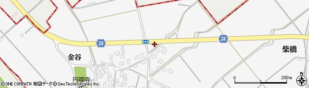 山形県寒河江市柴橋1435周辺の地図