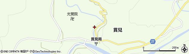 山形県西村山郡大江町貫見67周辺の地図